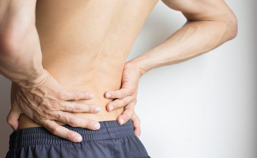 Schmerzen bei Lendenwirbel 5, schmerzender Rücken